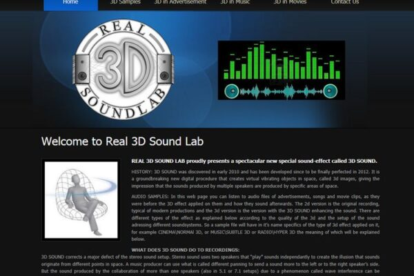 Real 3D Sound Lab