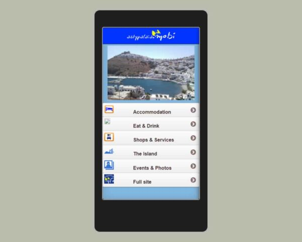 Astypalaia Mobile App